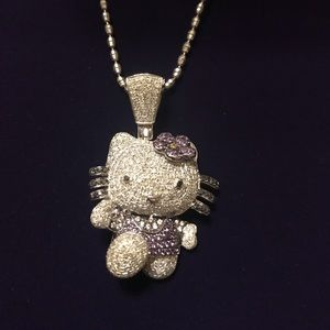 Jewelry - Hello Kitty Diamond and Gold Necklace